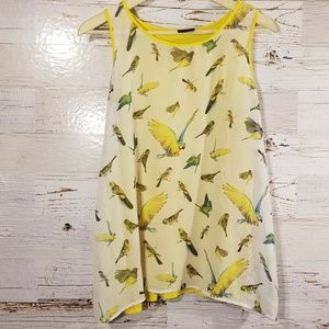 Bobeau graphic bird tank